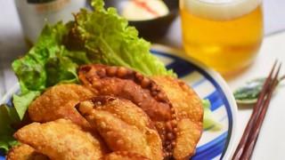 【磯の香りが旨い】キムチーズおつまみ揚げ餃子 サントリークラフトセレクト