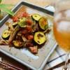【アンチョビチューブで簡単】ズッキーニとトマトの炒め物